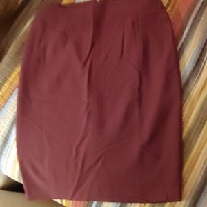 WHBM body perfecting pencil skirt size 12